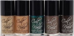 Cult Nails : Let's Get Nekkid! Collection. Based off of skin tones each shade is named after Nude Beaches, along with a stunning limited edition green shade called Toxic Seaweed (the extraterrestrial skin-shade :P). Buy at www.cultnails.com #cultnails #jointhecult