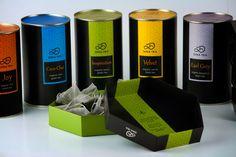 Dina Tea packaging on Behance