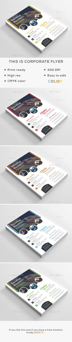 Corporate Flyer Template PSD. Download here: http://graphicriver.net/item/corporate-flyer-v2/15456929?ref=ksioks
