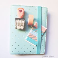 Target dollar spot goodies are the best accessories for filofax ! I'm in love with my very first roller date stamp!