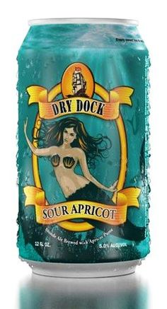Dry Dock Sour Apricot beer