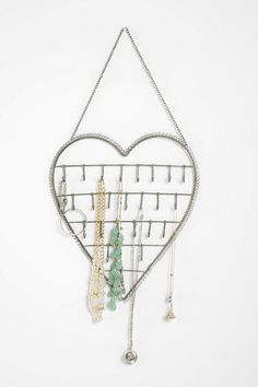 Heart on a String Jewelry Stand  #UrbanOutfitters