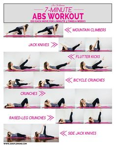 7-Minute Abs Workout!