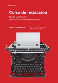 Curso de redacción : teoría y práctica de la composición y del estilo / Gonzalo Martín Vivaldi
