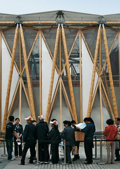 Bamboo Pavilion for the Expo Shanghai | DETAIL inspiration⊚ pinned by www.megwise.it #megwise