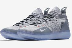 buy popular e468b 30ddc Official Images  Nike KD 11 Cool Grey