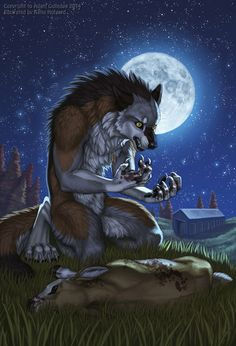 Werewolf Tale by Shadow-Wolf