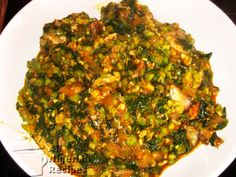 Ogbono Soup is a delicious Nigerian soup recipe but do you know that you can add Okra to it? This gives you the opportunity to have more vegetables in the soup.