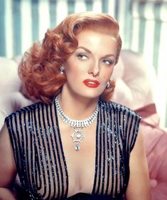 Jane Russell. Wanted to be her when I was 9.  Still do a little...