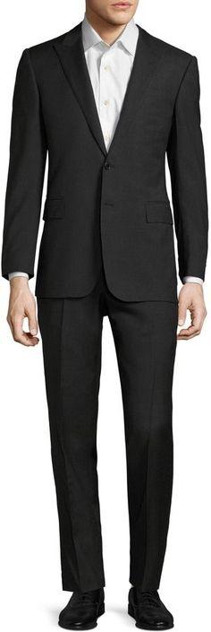 Polo Ralph Lauren Men's Heavy Sharkskin Suit