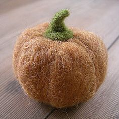 felted pumpkin tutorial