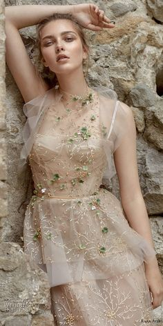 rara avis 2017...Wow, gorgeous, change the embellishments to fit the wedding theme and budget.
