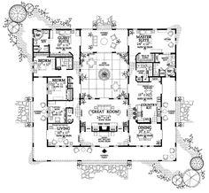 Huge house but I love it! House Plan ID: chp-19842 - COOLhouseplans.com