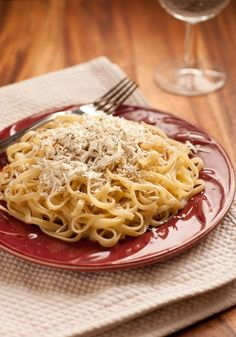 Pasta+with+Browned+Butter+and+Mizithra+(Must+Try+15+Minute+Meal!)