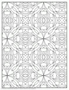 Designs Patterns Coloring Pages For Adults Find This Pin And More