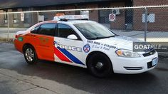 Check out Toronto's latest campaign car in the fight against impaired driving. The back is painted as a Beck Taxi including the 911 Flashing, Beck Taxi Light on the roof, and the phone number. Once you pass it, the only thing you'll be seeing is a Toronto Police Issued Squad Car in your rear view.
