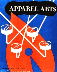 https://flic.kr/p/4wMnuE | American Graphic Design | Paul Rand designed cover for Apparel Arts 1939. He took the concept of fashion off in a whole new direction.