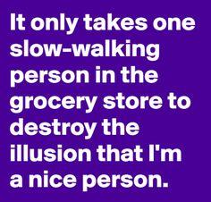 Outta the way slow poke!!