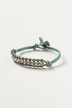 Starlight Leather Bracelet #anthropologie