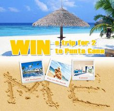 CONTEST ALERT: Win an all-inclusive luxury trip for 2 to Punta Cana in the Domican Republic or 1 of 3 $100 gift cards of your choice from Saveland.ca