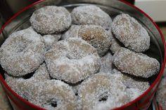 El mundo culinario de Cris: dulces - rollitos de vino (galletas típicas navideñas)