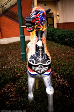 Charm and Carousel Horses in Meridian, Mississippi Meridian Mississippi, Rocking Horses, Wooden Horse, Painted Pony, Carousels, Carousel Horses, Future Travel, Ponies, North America