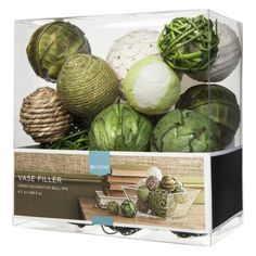 Threshold™ Decorative Filler Balls - Green