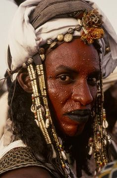 Peul Mbororo._Niger  Photo by Georges Courreges