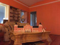 Model of Palacio Real de Aranjuez during the reign of Fernando VI