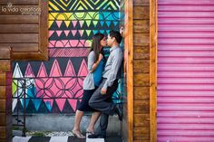 eeva + edgar's engagement session | old town san diego & little italy