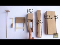 How to make a Candy Vending Machine using Cardboard at home Easy to Make 100% Working - YouTube