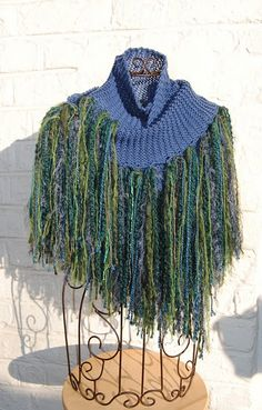 fringe shawl free knitting pattern