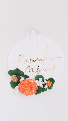 Ramadan Diy, Ramadan Crafts, Ramadan Decorations, Eid Mubarak, Diy And Crafts, Crafts For Kids, Paper Crafts, Fest Des Fastenbrechens, Ramadan Kareem Pictures