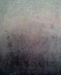 """""""Paisaje Lunar"""" 2015. Mixed media (acrílico y encaustica sobre lienzo) 100x80cm.By mluisanaranjo."""
