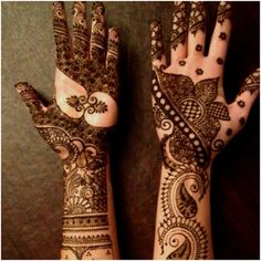 Popular Easy & Beautiful Henna Mehndi Designs Images for free download