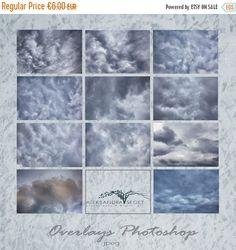 Fall sale Sky Photo Overlays clouds photoshop sky texture