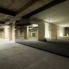 Rooms filled with soothing music, water and incense populate this former second-world-war telecommunication bunker in Berlin. The concrete structure was converted into a Chinese art museum by John Pawson, the architectural designer also responsible for the interiors of London's new Design Museum.