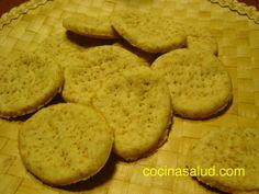 Cómo hacer galletas saladas