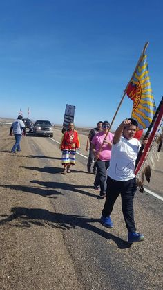Tribal members are trying to negotiate with energy company TransCanada to reroute the pipeline downstream of their water supply.
