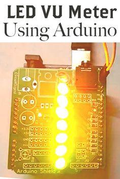 How to Make a LED VU Meter Using Arduino