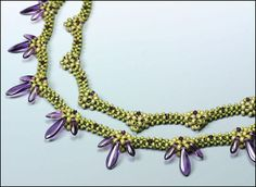 Beading Ideas | This is one of the ideas I jotteddown in my sketch book.