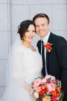 Real Utah Wedding