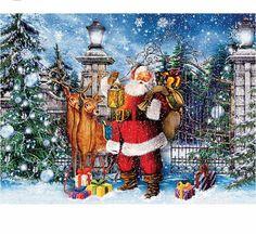 diamond painting christmas,painting rhinestones,3d embroidery,diamond painting santa clause #Affiliate
