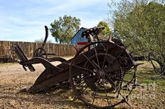 Farming and farm machinery have continued to change and evolve from the time when a farmer used sticks and his bare hands and the strength of his back to plant and harvest the crops to today…GPS guides many farmers thru their fields in their climate controlled equipment.