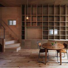 Coo Planning リビングと壁面本棚
