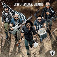 """""""Gigante"""" Portada para el álbum en vivo """"Despertando al gigante"""" de Jáuregui"""