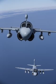 """Four EA-6B Prowlers belonging to each Prowler squadron aboard Marine Corps Air Station Cherry Point conducted a """"Final Four"""" division flight aboard the air station March 1, 2016. The """"Final Four"""" flight is the last time the Prowler squadrons will be flying together before the official retirement of Marine Tactical Electronic Warfare Training Squadron 1 at the end of Fiscal Year 16 and the eventual transition to """"MAGTF EW"""".(U.S. Marine Corps photo by Lance Cpl. Mackenzie Gibson)"""