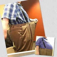I know I posted a similar pic yesterday but I figured this one can show some contrast. Same pants late November to now. #transformation #WereBigPantsPeople #paleo #primal #healthy #fitness #crossfit #cardio #weightlifting #weightloss  #FatToFitToFatToFit #IChooseToLive #Glutenfree #lowcarb #FitOverForty #Keto #WeightlossJourney #FitnessJourney #lchf #motivation #WildDiet #fitfam #ketofam #goals #51byLaborDay #eattolivenotlivetoeat #foodaddict #addiction by thatfatguy73