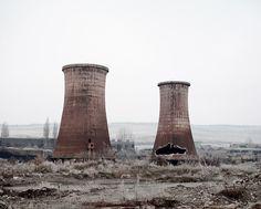 Cooling Towers (Calan, West Romania), 2011 TAMAS DEZSO PHOTOGRAPHER - NOTES FOR AN EPILOGUE (2011 - ongoing)