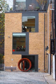 Office building on Bermondsey street